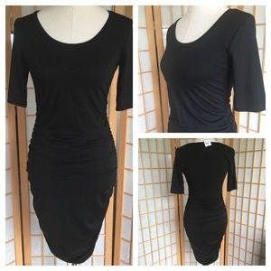 NWT Motherhood Maternity Black Dress SZ S